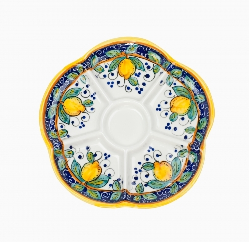 Alcantara Round Divided Dish