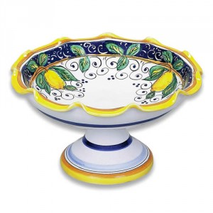 Alcantara Footed Bowl