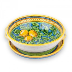 Limone Fruit Collander with Tray