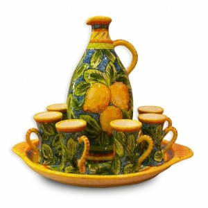 Limone 8 pc. Limoncello Set