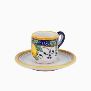 Alcantara Espresso Cup with Saucer