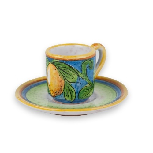 Limone Espresso Cup with Saucer