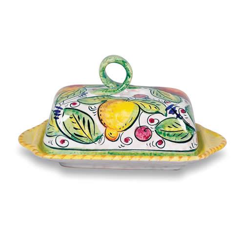 Frutta Mista Butter Dish