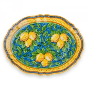 Limone Fluted Oval Platter