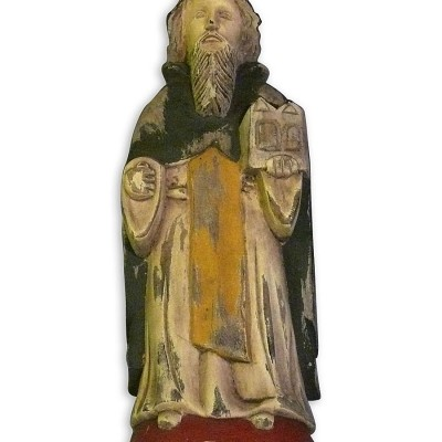 St. Augustine Wooden Saint