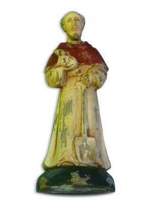 St. Fiacre Wooden Saint