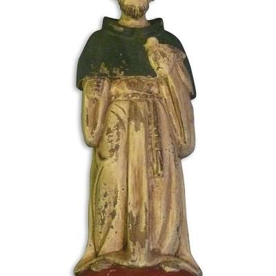 St. Francis Wooden Saint