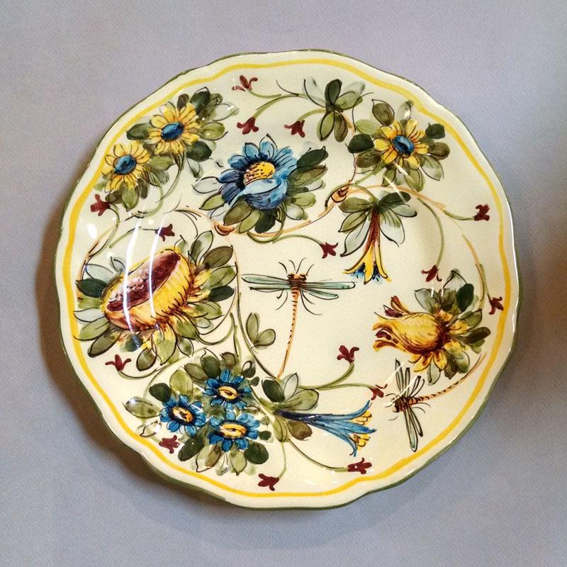 Toscana Fiori Dinner Plate \u2013 Full Design  sc 1 st  Italian Pottery Outlet & Toscana Fiori Dinner Plate - Full Design - Italian Pottery Outlet