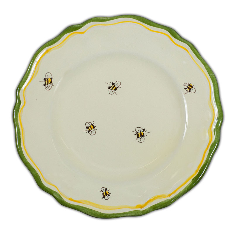 Sale! ?; ?  sc 1 st  Italian Pottery Outlet & Toscana Bees Dinner Plate - Simple Bees - Italian Pottery Outlet