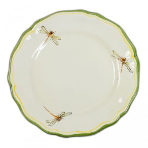 Toscana Fiori Dinner Plate \u2013 Simple Dragonfly  sc 1 st  Plates Archives - Italian Pottery Outlet & Plates Archives - Italian Pottery Outlet