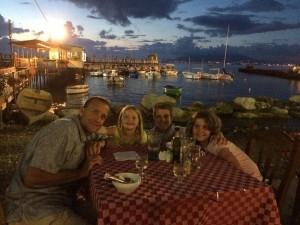 Al Fresco Dining in Sorrento