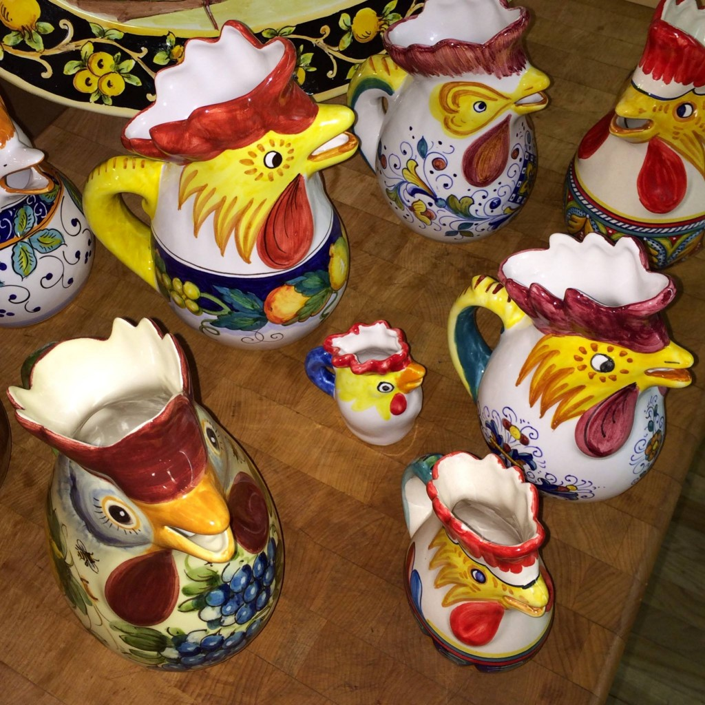 Rooster Pitchers