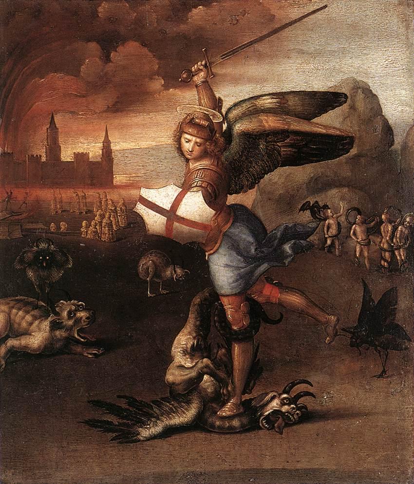 Raffaellesco is the namesake of the Great Master painter, Raphael.