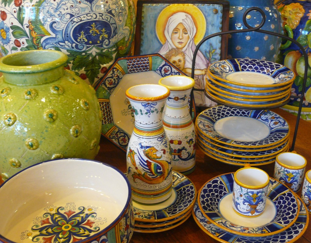 Ceramics from Deruta and Florence - Italian Pottery Outlet