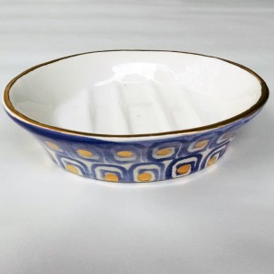 Labarinto Soap Dish - Italian Pottery Outlet