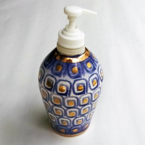 Labarinto Soap Pump - Italian Pottery Outlet