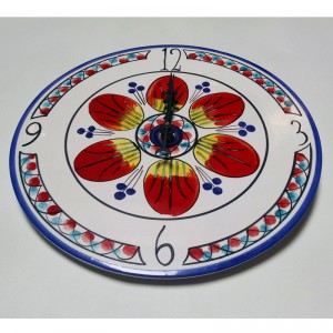 Allegria Clock - Italian Pottery Outlet