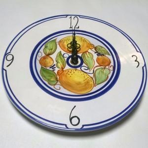 Limoncello Clock - Italian Pottery Outlet