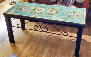Italian Pottery Outlet - Volcanic Bench