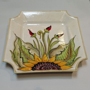 Audrey Square Platter - Italian Pottery Outlet
