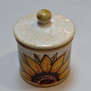 Audrey Sugar or Salt Jar - Italian Pottery Outlet