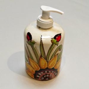 Audrey Soap Pump - Italian Pottery Outlet