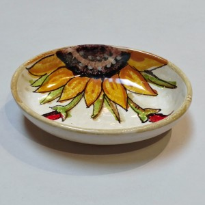 Audrey Soap Dish - Italian Pottery Outlet