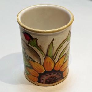 Audrey Utensil Holder - Italian Pottery Outlet