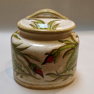 Toscana Audrey Biscotti Jar Italian Pottery Outlet