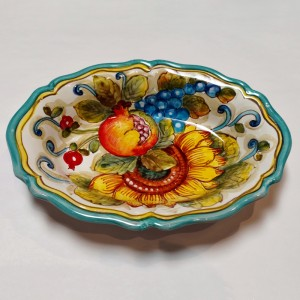 San Lorenzo Oval Bowl - Italian Pottery Outlet