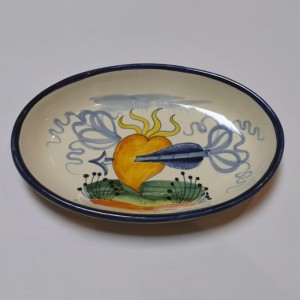 Cuore Soap Dish - Italian Pottery Outlet