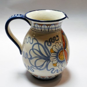 Toscana Cuore Pitcher - Italian Pottery Outlet