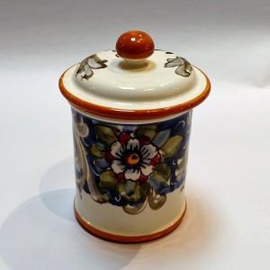 Volute Salt Jar - Italian Pottery Outlet