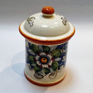 Volute Sugar Canister - Italian Pottery Outlet