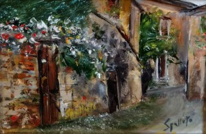 Original Oil Paintings by Ben Spalluto at Italian Pottery Outlet
