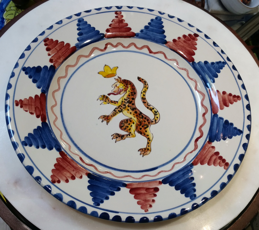 Palio Plates at Italian Pottery Outlet