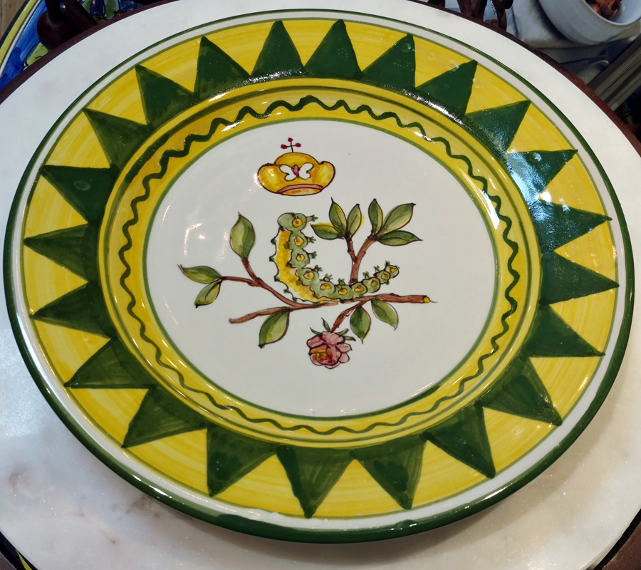 Palio Plates at Italian Pottery Outlet - The Caterpillar