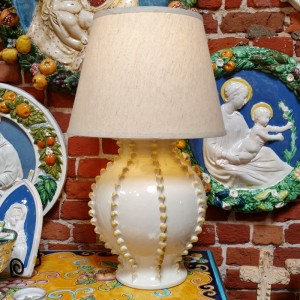 Handmade and hand painted outside of Florence, Italy. From Italian Pottery Outlet.