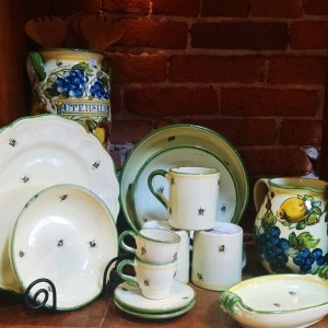 Handmade and hand painted in Tuscany from Italian Pottery Outlet