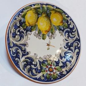 Toscana Volute handmade platter at Italian Pottery Outlet