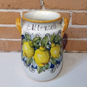 Toscana Volute Handmade Utensil Holder