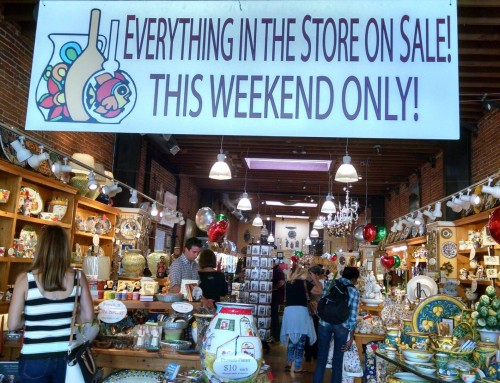 Italian Pottery Outlet Sales!