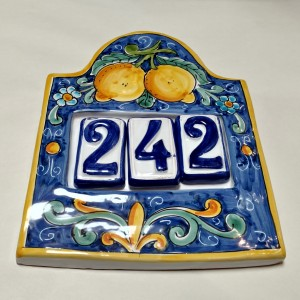 House Numbers Archives Italian Pottery Outlet - Ceramic street numbers