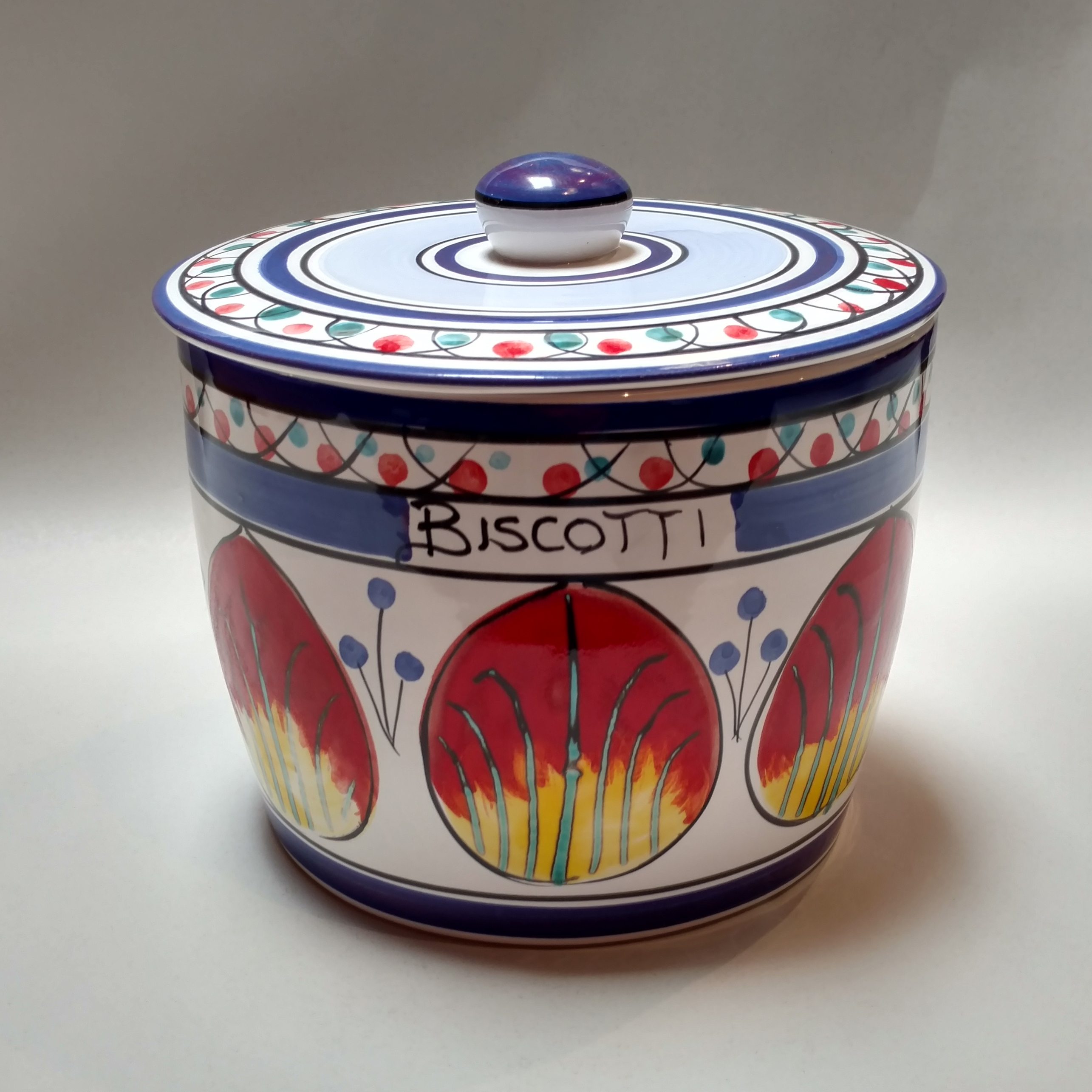 Ceramic Biscotti Jar Part - 20: Sale! ; 